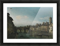 City of Florence Picture Frame print