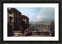 Liechtenstein Garden Palace in Vienna Seen from the East Picture Frame print
