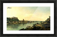 Along the river Picture Frame print
