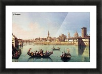 View af the Arno in Florence Picture Frame print