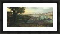 View of Warsaw from Prague Picture Frame print