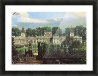 View of Palace in Warszawa Picture Frame print