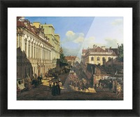 Miodowa Street in Warsaw Picture Frame print