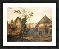 Landscape with Farmhouse Picture Frame print