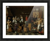 The Legend of the Baker of Eeklo Picture Frame print
