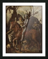 A Knight, Death, and the Devil Picture Frame print