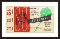 1953 USC vs. Notre Dame Picture Frame print