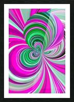 DISTORSION 5B Picture Frame print