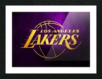 Lakers Picture Frame print