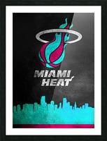 Miami Heat Vice Picture Frame print