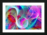 SWIRLS 1B Picture Frame print