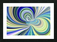 WHIRLWIND 2D Picture Frame print