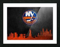 New Jersey Islanders Picture Frame print
