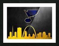 St Louis Blues Picture Frame print