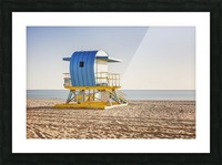 Miami Beach 117 Picture Frame print