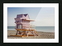 Miami Beach 056 Picture Frame print