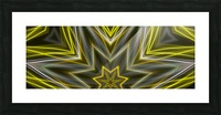 Yellow Neon Lights  Picture Frame print