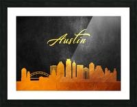 Austin Texas Skyline Wall Art Picture Frame print
