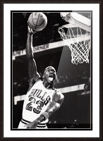 Michael Jordan Art Print Picture Frame print