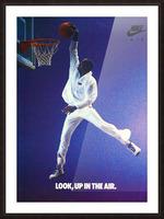 1987 Michael Jordan Nike Ad Picture Frame print