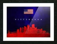 Pittsburgh Pennsylvania Picture Frame print