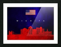 Wichita Kansas Picture Frame print