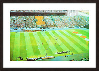 Vintage Illinois Football Art Picture Frame print
