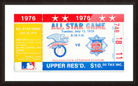 1976 All Star Game Picture Frame print