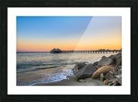 Stranded Picture Frame print
