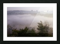 Foggy morning Picture Frame print
