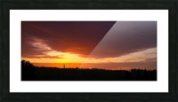 Sunrise Picture Frame print