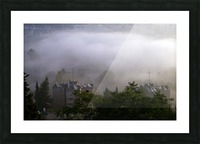 Foggy morning N2 Picture Frame print