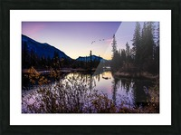 As Ducks Fly Policemans Creek Canmore Picture Frame print