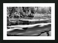 Frosty Creek In Alberta  Picture Frame print