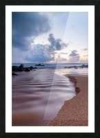 Where the Heavens Meet the Sea Picture Frame print