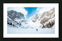 Walking on Water Picture Frame print