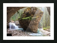 Off Trail Picture Frame print