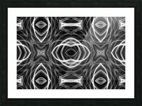 Monochrome Picture Frame print