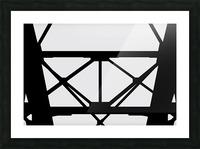 Bridge I Picture Frame print