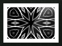 Monochrome Graffiti Picture Frame print
