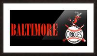 baltimore orioles retro remix row one Impression et Cadre photo