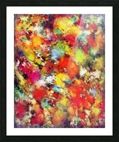Big colour storm Picture Frame print