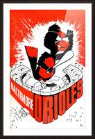 hal decker artist baltimore orioles poster Impression et Cadre photo
