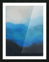 Tranquility Blue II. Picture Frame print