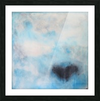 Naples Blue III Picture Frame print