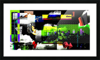 URBAN DENVER 2011 Picture Frame print