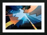 london skyscraper lighting contrast_1588277165.5591 Picture Frame print