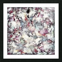 Ground frost Picture Frame print