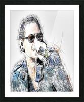 Chester Bennington Linkin Park Picture Frame print