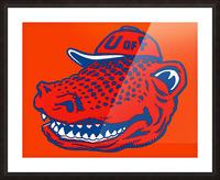 Vintage Florida Gators Wall Art Picture Frame print